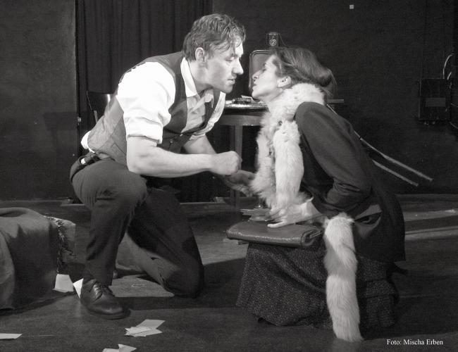 Theaterfoto mit Horst Heiss