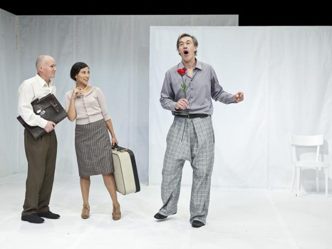 Theaterfoto mit Horst Heiss: Die Andere Seite von Alfred Kubin
