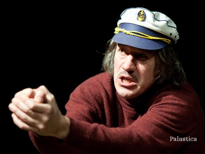 Theaterfoto mit Horst Heiss: Palastica von Carsten Brandau (TAG Werktage)